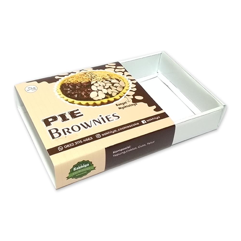 Dus Pie Brownies Spesial untuk Bisnis Kue Kekinian agar ...