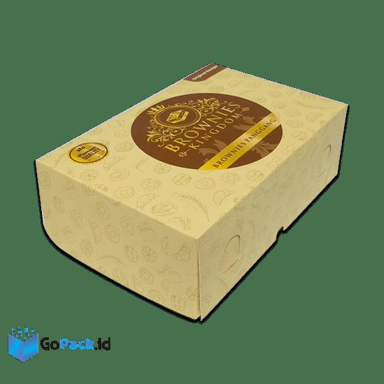 dus kotak brownies